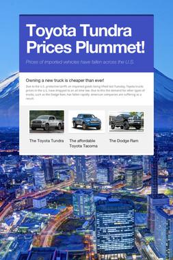Toyota Tundra Prices Plummet!