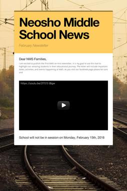 Neosho Middle School News