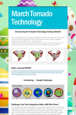 March Tornado Technology
