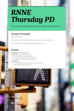 RNNE Thursday PD