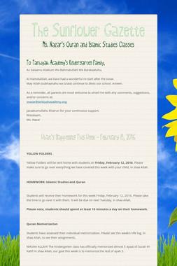 The Sunflower Gazette
