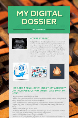 My digital dossier