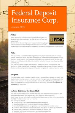 Federal Deposit Insurance Corp.
