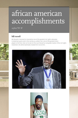 african american accomplishments