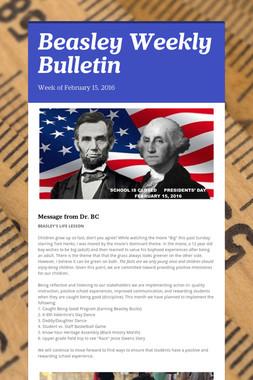 Beasley Weekly Bulletin