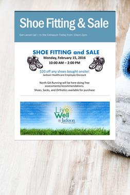 Shoe Fitting & Sale