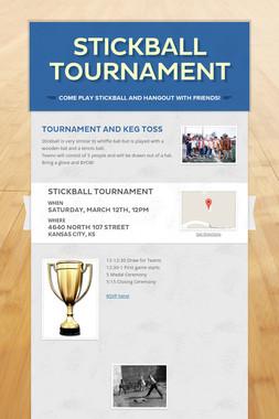 Stickball Tournament