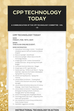 CPP Technology Today
