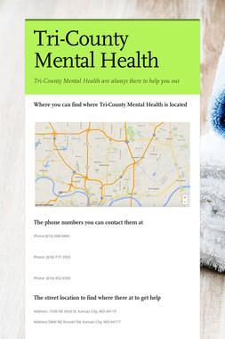Tri-County Mental Health