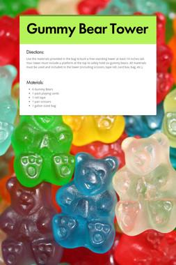 Gummy Bear Tower