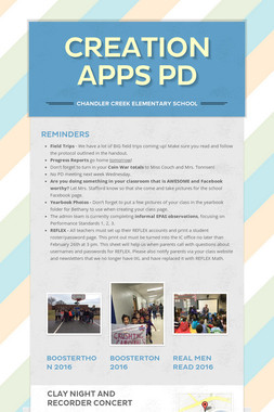 Creation Apps PD