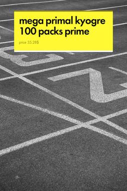 mega primal kyogre 100 packs prime