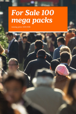 For Sale 100 mega packs
