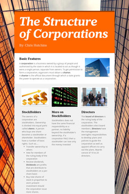 The Structure of Corporations