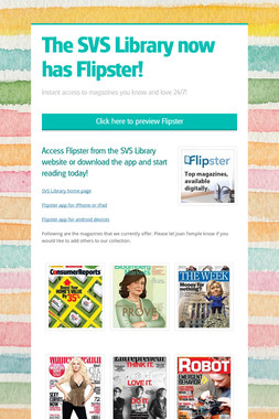 The SVS Library now has Flipster!
