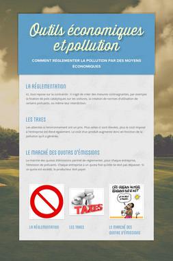 Outils économiques et pollution