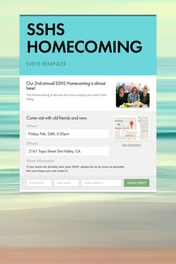 SSHS HOMECOMING