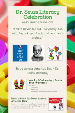 Dr. Seuss Literacy Celebration