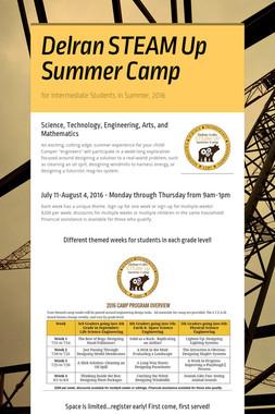 Delran STEAM Up Summer Camp