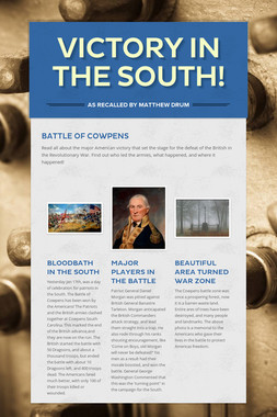 Victory in the South!
