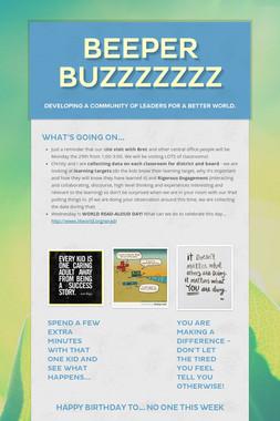 Beeper Buzzzzzzz