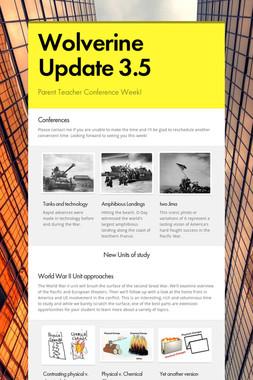 Wolverine Update 3.5