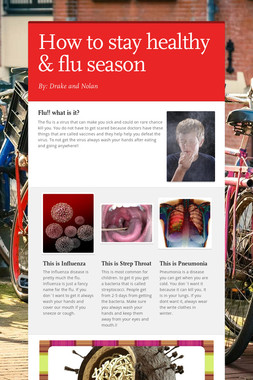 How to stay healthy & flu season