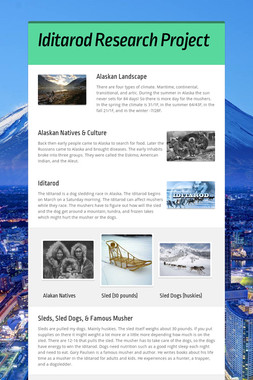 Iditarod Research Project