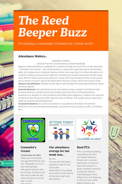 The Reed Beeper Buzz