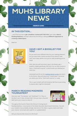 MUHS Library News