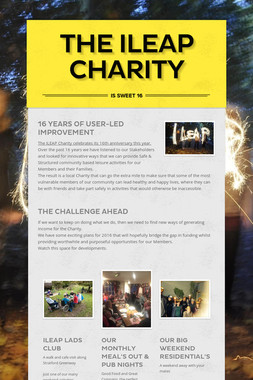 The ILEAP Charity