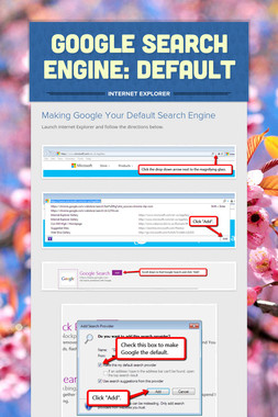 Google Search Engine: Default