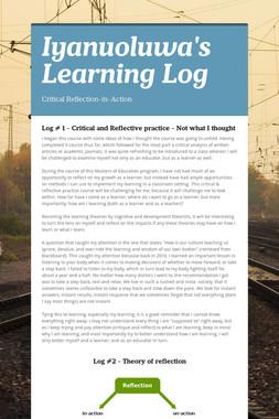 Iyanuoluwa's Learning Log