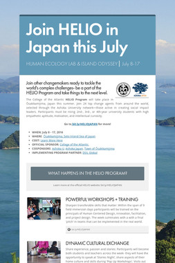 Join HELIO in Japan this July