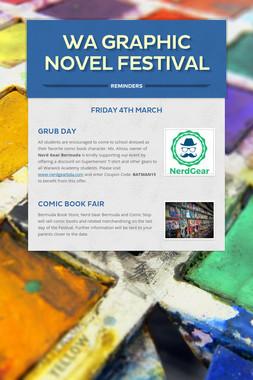 WA Graphic Novel Festival