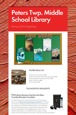 Peters Twp. Middle School Library