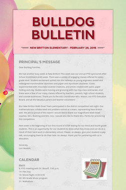 Bulldog Bulletin