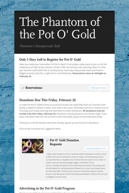 The Phantom of the Pot O' Gold