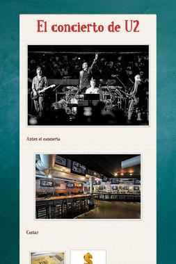 El concierto de U2