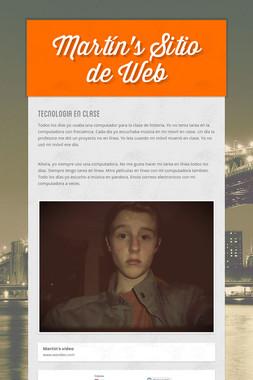 Martín's Sitio de Web