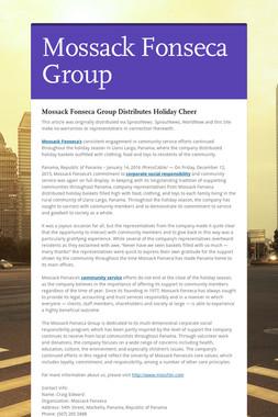 Mossack Fonseca Group