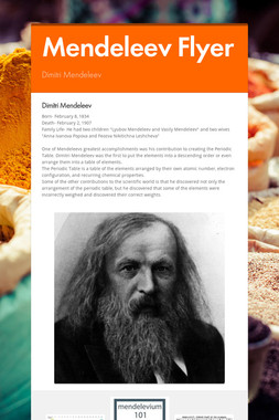 Mendeleev Flyer
