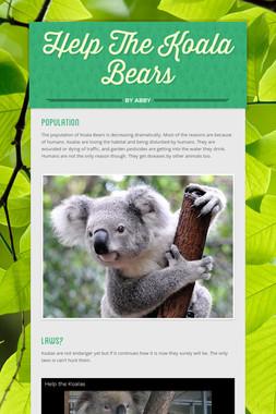 Help The Koala Bears