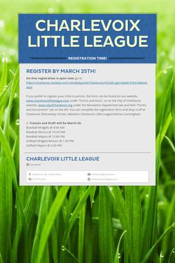 Charlevoix Little League