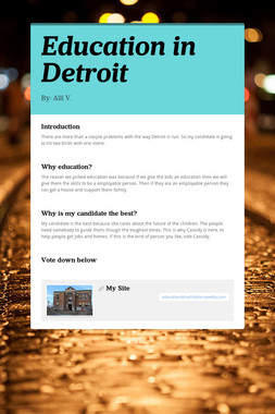 Education in Detroit