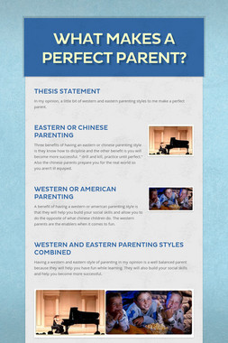 What Makes a Perfect Parent?