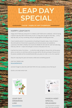 Leap Day Special