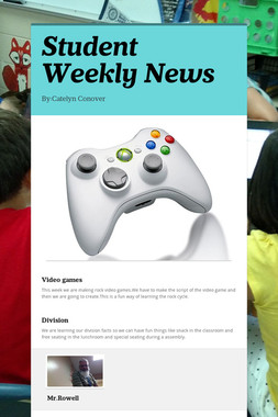 Student Weekly News