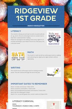 Ridgeview 1st Grade