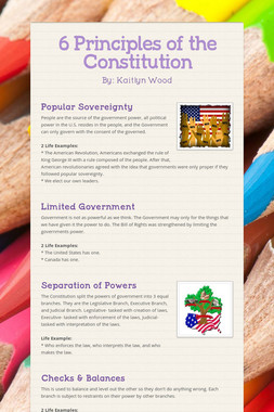 6 Principles of the Constitution
